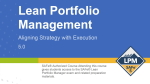 SAFe Lean Portfolio Management LPM